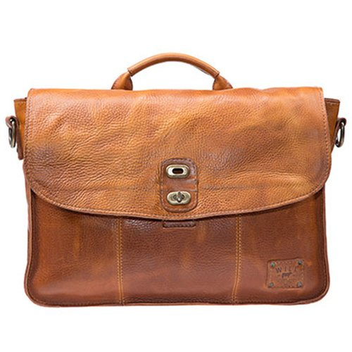 Will Leather Goods Kent Messenger Bag- Tan — Carriages Fine Clothier ... f3ca332c5d
