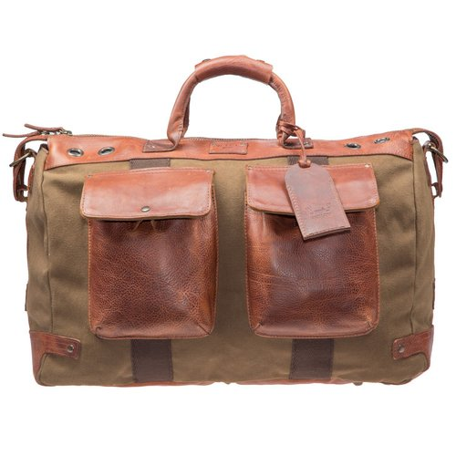 0e939e81baa1 Will Leather Goods Canvas  Leather Traveler Duffle.  31036 traveler-duffle tabac front lg 1.jpg
