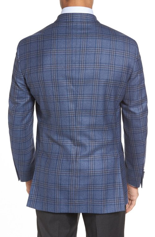 Peter Millar Navy Plaid Sport Coat — Carriages Fine Clothier ...