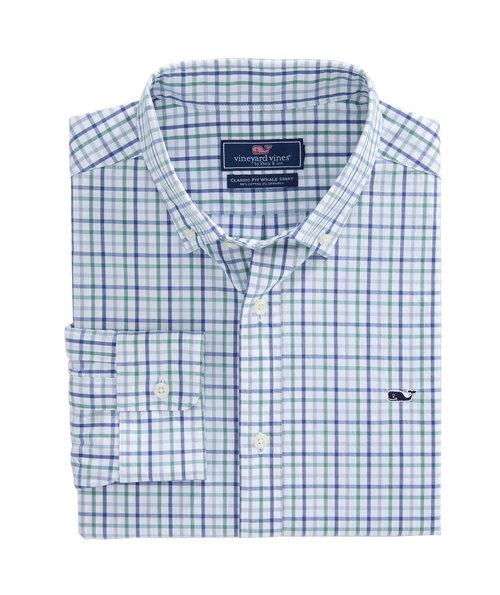 e69558a86280 Vineyard Vines Water Street Classic Whale Shirt- Starboard Green.  1W3724 324 LD F.jpg