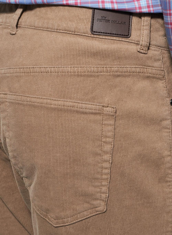 8ccc991c9c19a3 Peter Millar Superior Corduroy Five-Pocket Pant -Khaki — Carriages Fine  Clothier | Baton Rouge, LA | Men's Clothing