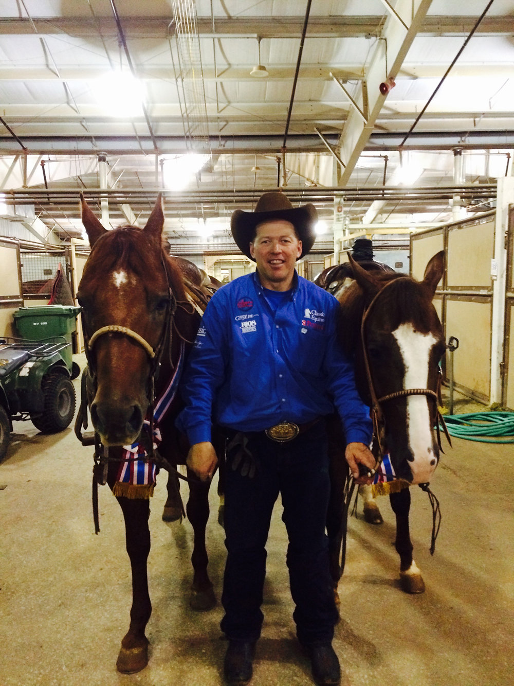 Brad Lund with Jr Heading and Heeling Champions.JPG