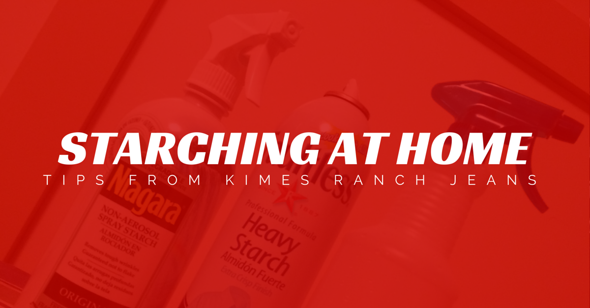Starching at Home — Kimes Ranch