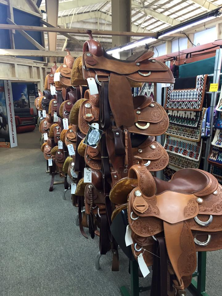 Speaking of saddles, make sure you check out Scottsdale Western World at the NRHA Futurity for all of your saddle needs!