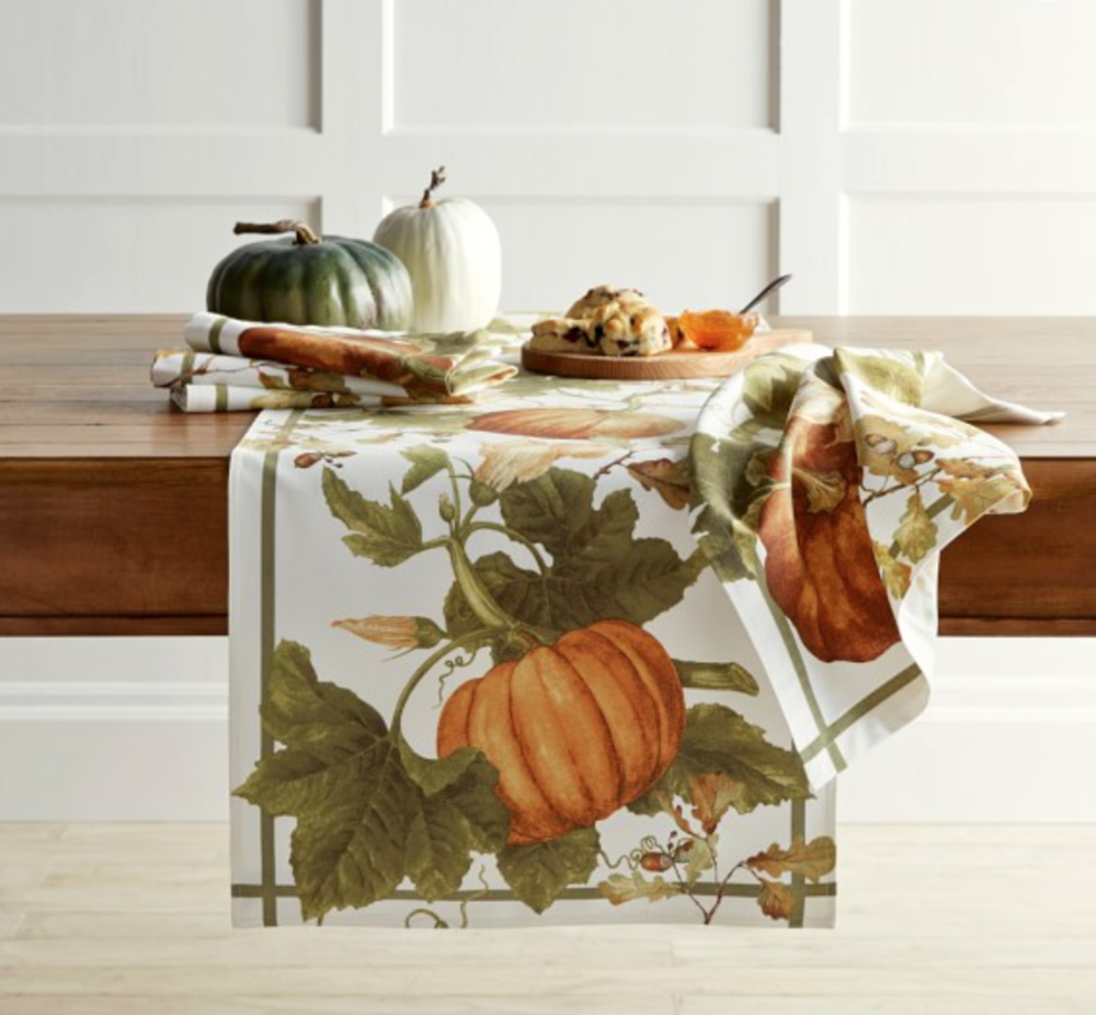 https://www.williams-sonoma.com/products/botanical-pumpkin-runner/?pkey=cthanksgiving-entertaining%7Cthanksgiving-linens&isx=0.1.16767