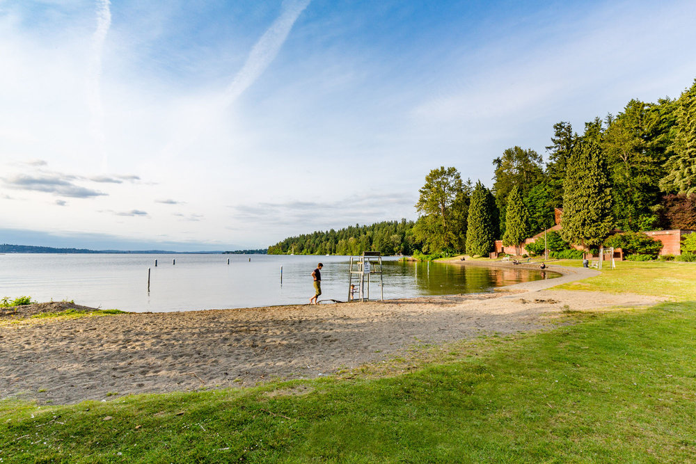 Beach at Seward Park