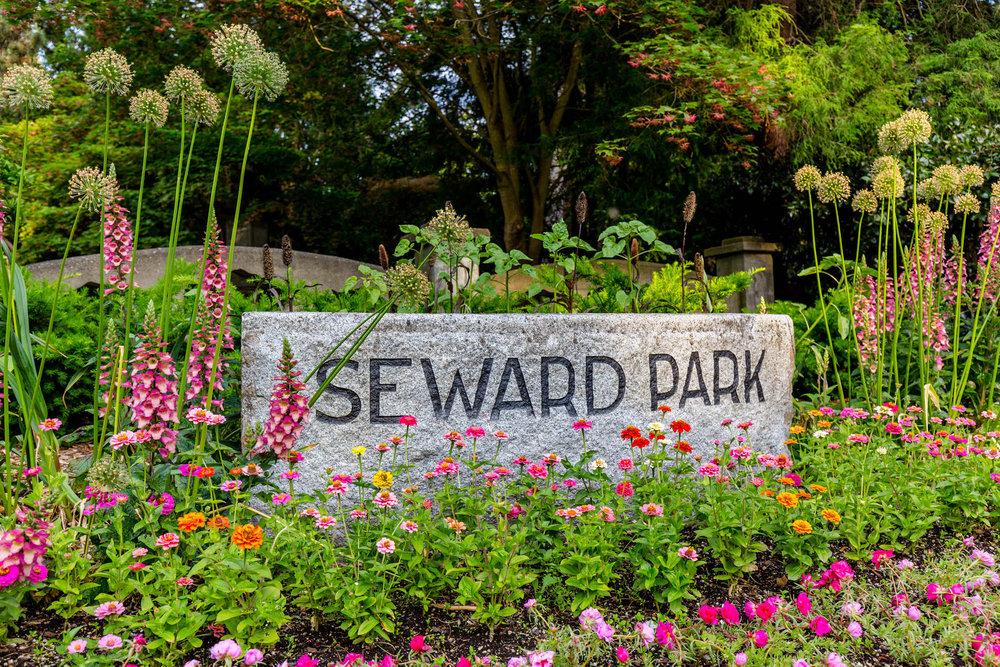 Seward Park Entrance