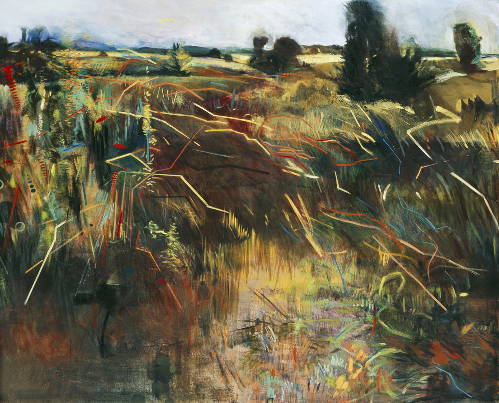 Field Chatter, 2006, Oil on Canvas, 54″ x 66″