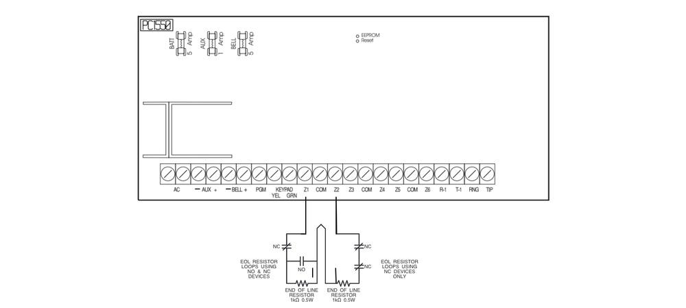 Dsc resources super security tech on dsc wiring diagram Panelboard Wiring dsc pc1616 wiring diagram