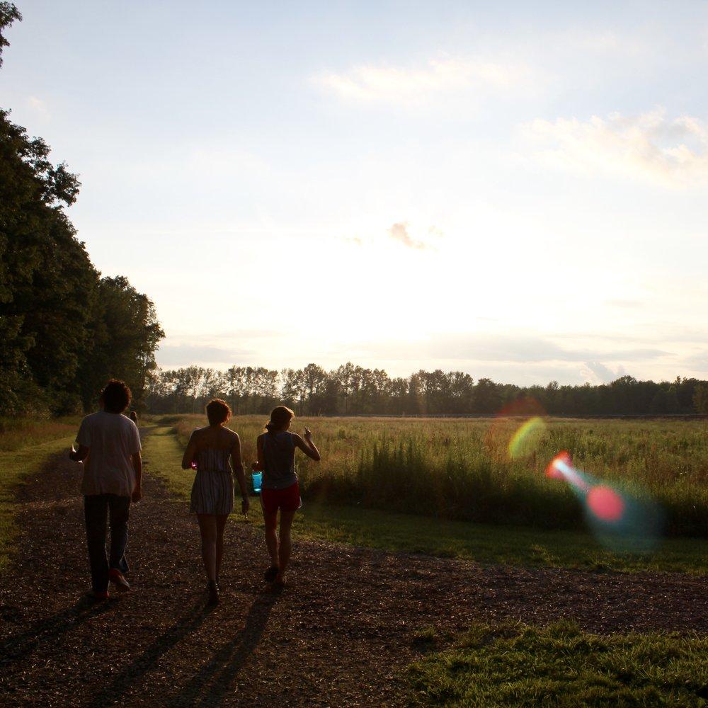 #SunsetHikeToASolarArray #WhereDoYouGetYourEnergy