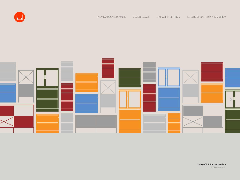 herman miller storage — work of ryan ganss - hmstorage