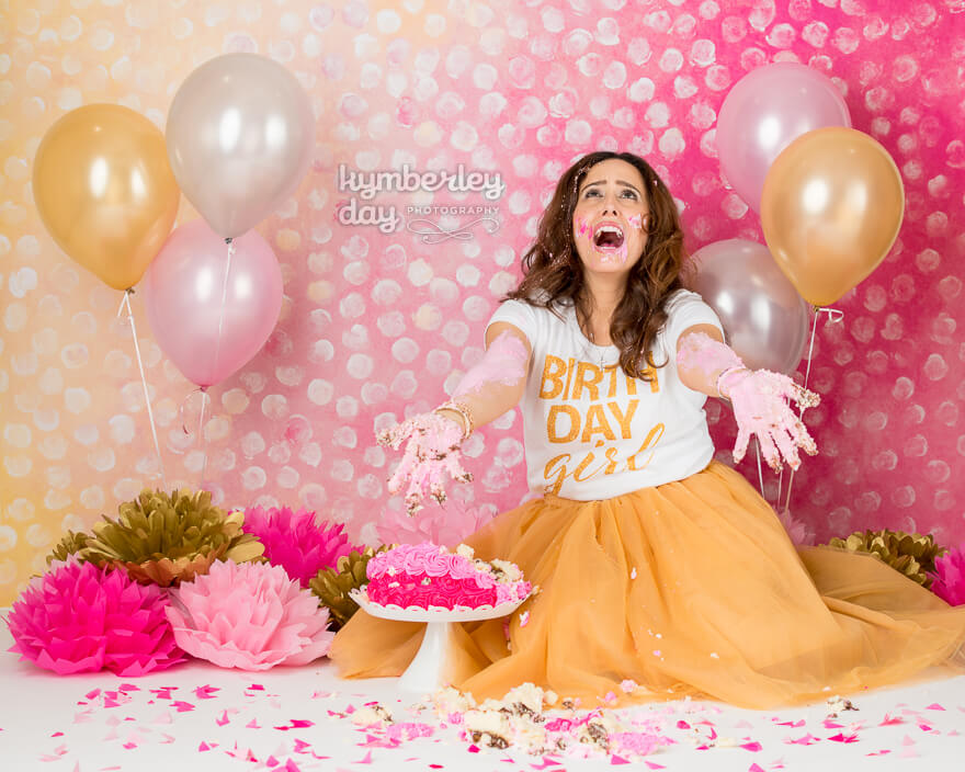 cake smash photographer orange county