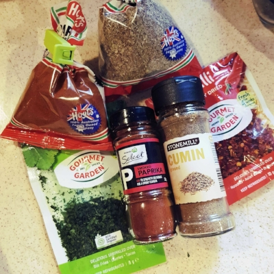 I usually buy what is cheapest or on sale - I am loving the gourmet gardens semi dried herbs and spices though - some are even organic! They are limited in what they stock however... From top to bottom, left to right: paprika, marjoram, coriander, smoked paprika, cumin, and chilli
