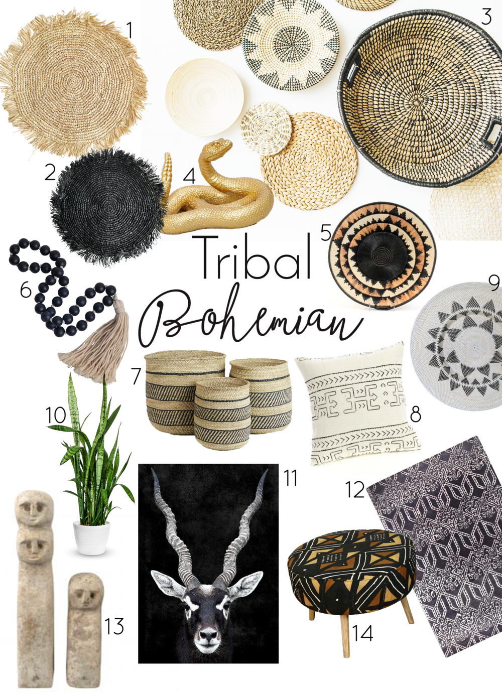 Think of… - Juju hats, animal prints - safari, tribal wall art, jewellery to display, Bali, Africa, Thailand, earthy colours, beads and bones