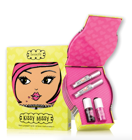 benefit-kissy-missy-lip-set