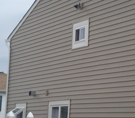 "Fully Insulated 7"" ClapBoard Siding"