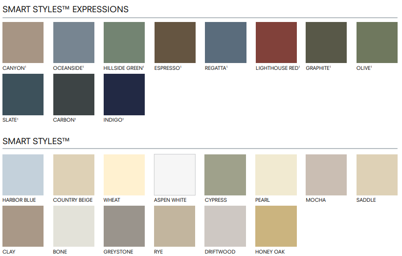 Vinyl siding colors.png