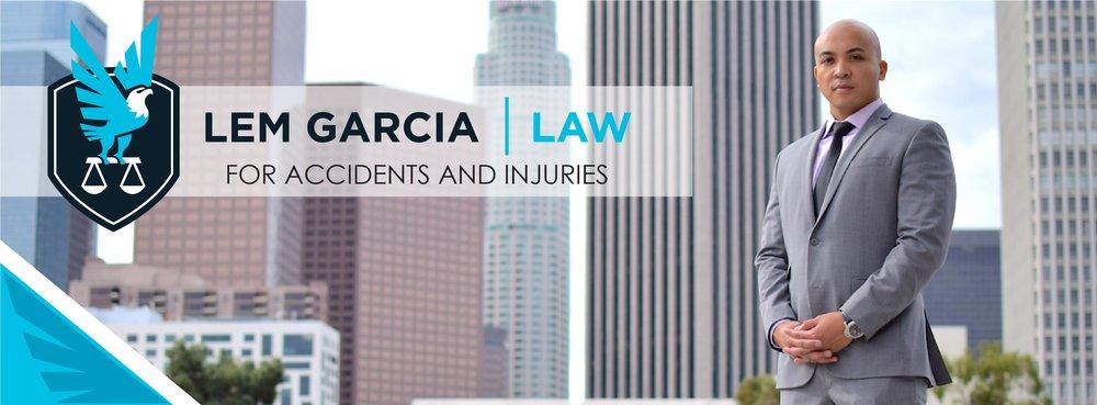 personal injury lawyer lem garcia -1720 W. CAMERON AVE. STE 210 WEST COVINA, CA 91790