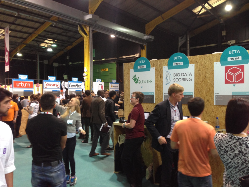 Startups pitch their grand plans at Dublin Web Summit