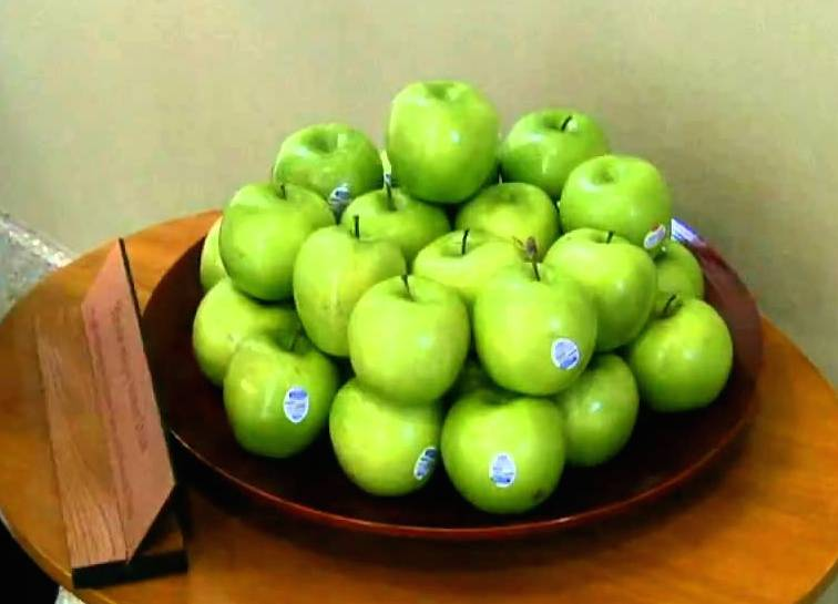 Green Apples at Harper