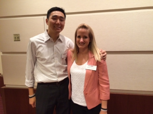 John Choi and Jen Phillips