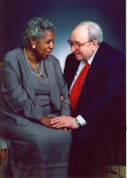The Late Enid and Bob Fogel. Image courtesy of The University of Chicago News Office.
