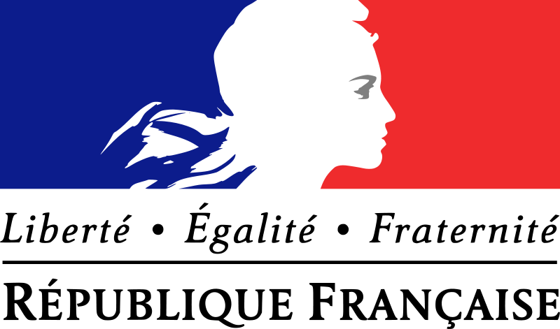Values of the French Republic: liberty, equality, fraternity.