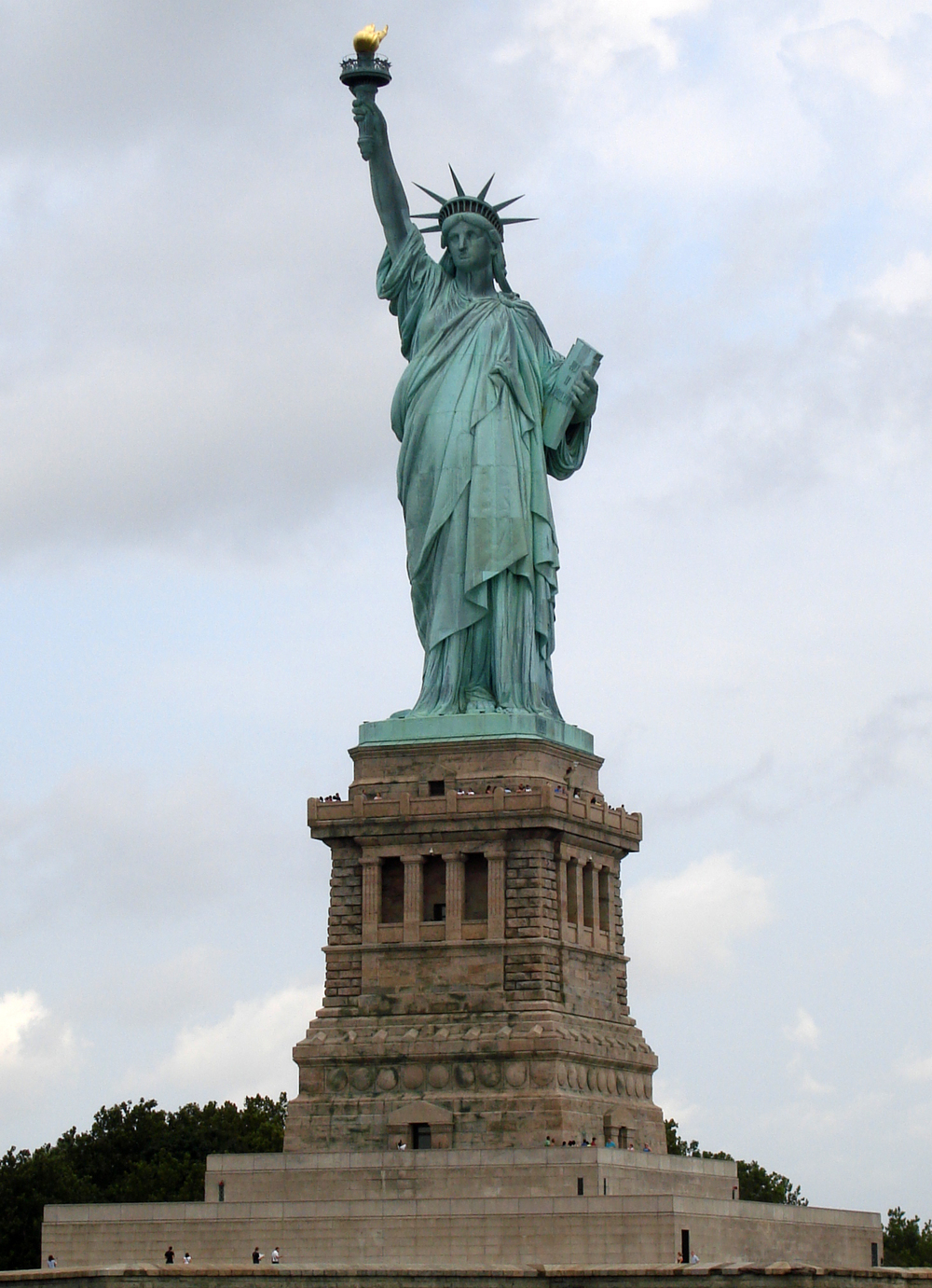 Give me your tired, your poor, your huddled masses yearning to breathe free… (Image courtesy: Wikipedia).
