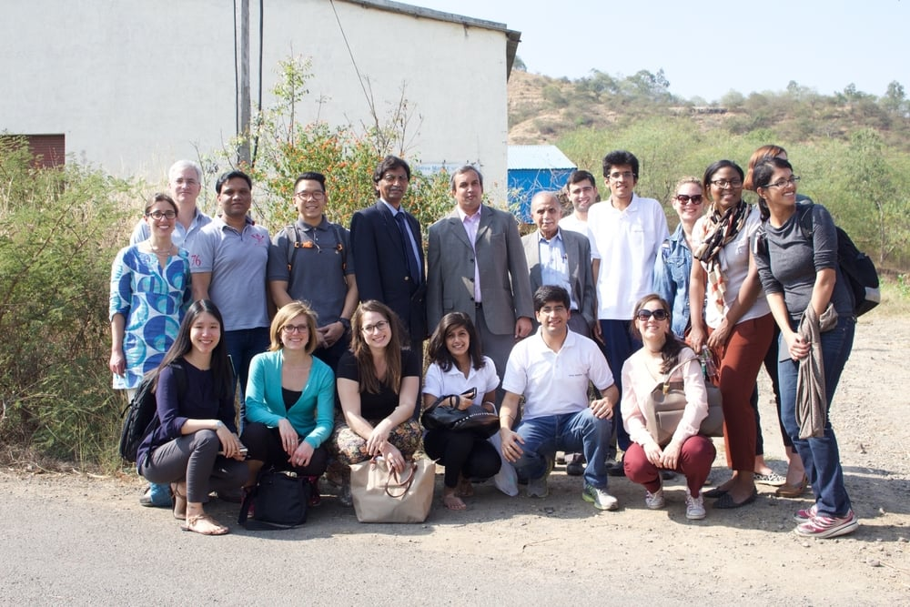 Students in the Global Social Impact Practicum, led by Booth's Social Enterprise Initiative, spent a week in India learning about clean energy for a consulting project with the Tata Trusts.