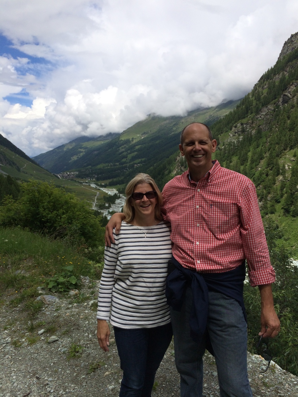 Steve Morrissette in the Alps