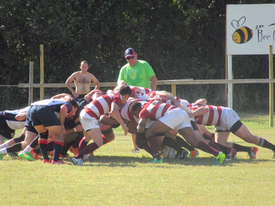 Booth Rugby team competes hard in Austin, TX during the 'Fall Brawl' 2016