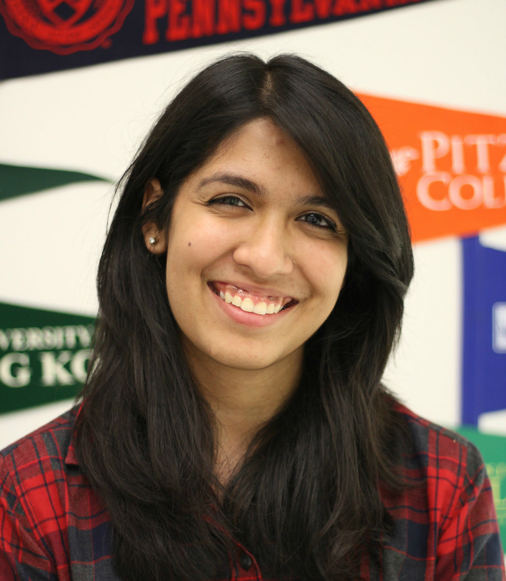 Disha Malik, Class of 2018