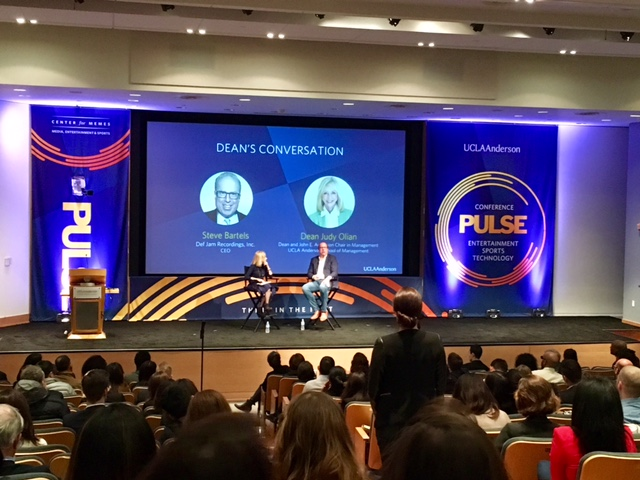 PULSE Media, Entertainment and Technology Conference hosted by UCLA  brought out some of the businesses heavy hitters like Def Jam CEO Steve Bartels.