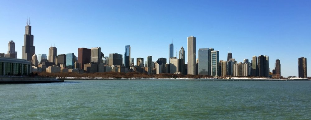 Chicago's iconic skyline.