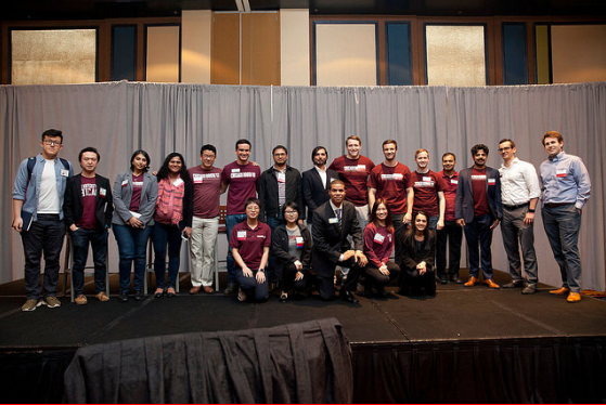 Team of Boothies who prepared and organized the summit