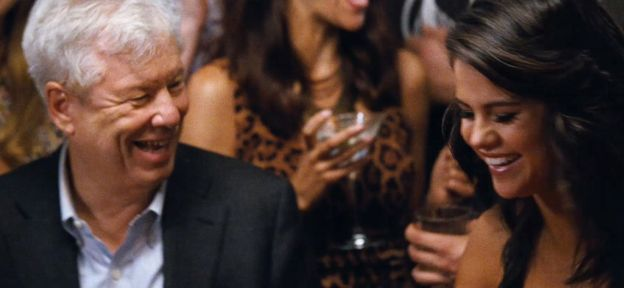 Richard Thaler with Selena Gomez in 2015 movie Big Short