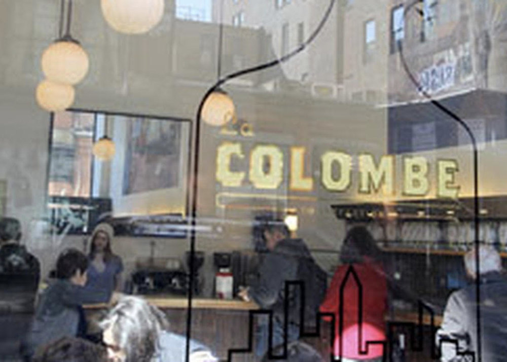 Get your caffeine on at La Colombe