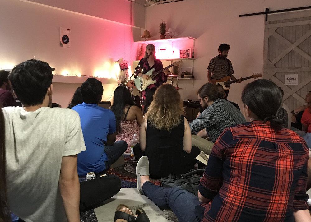 Catch a gig at Sofar Sounds
