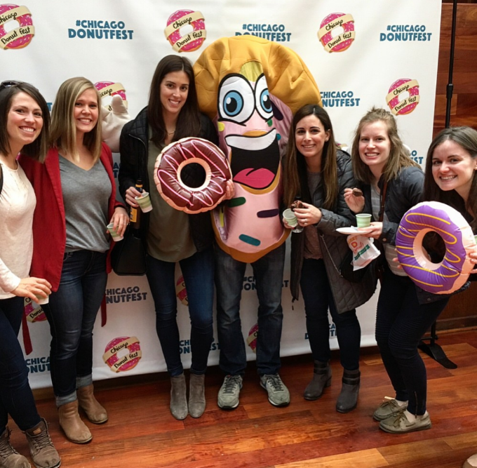 Partners Group at the Chicago DonutFest