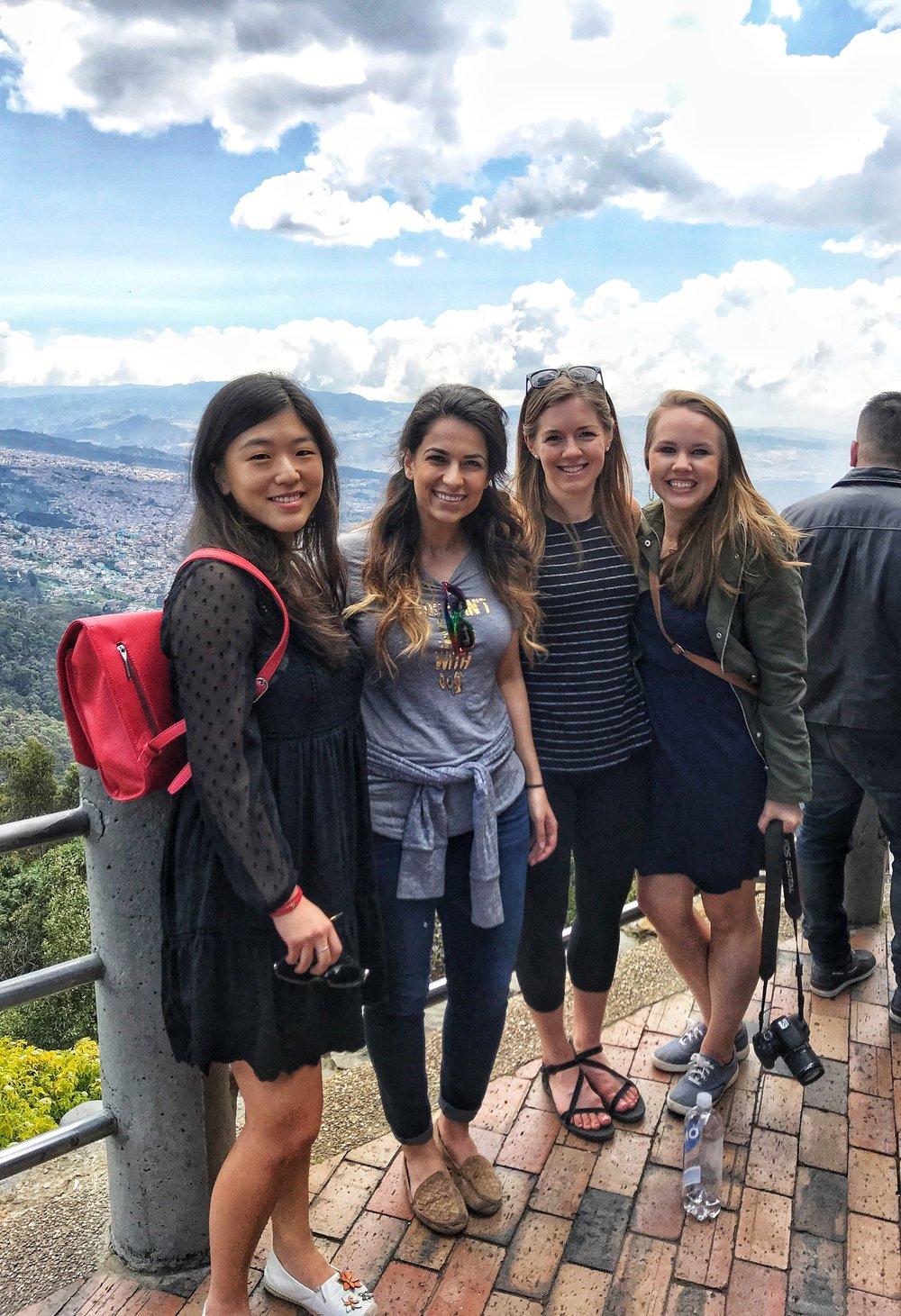 Partners enjoying Spring Break in Colombia