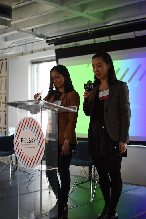 Seedcon Organizers - 2Ys Jiali Yu and Mayuri Baheti.JPG
