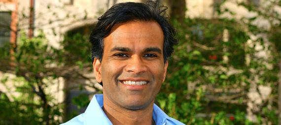 Professor Sendhil Mullainathan, Professor of Computation and Behavioral Science, and George C. Tiao Faculty Fellow at Chicago Booth