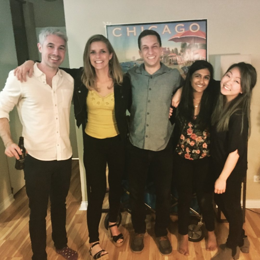 "Our Marketing Strategy team is still friends after enduring 10 tough case assignments, especially because 2Y Michelle Kim helped us set expectations about priorities for Winter Quarter during our first meeting. This was the ultimate ""D.R.E.A.M."" team (Dallas Cullen, Rachel Enright, Louis Ernst, Amrita Khanna, and Michelle Kim)."