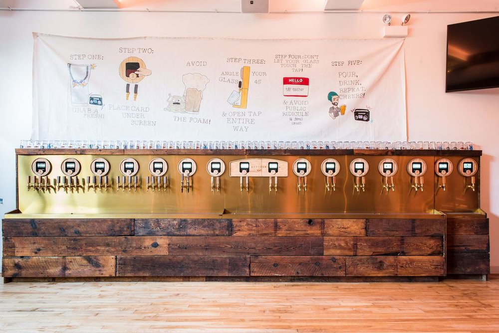 Tapster in Wicker Park is a completely self-service bar