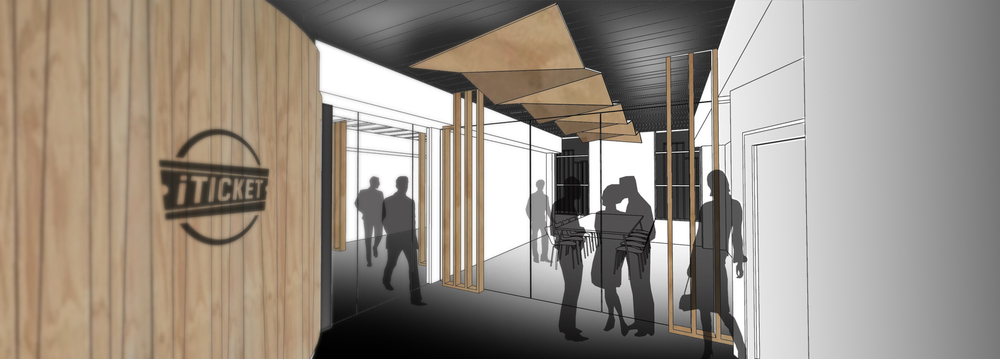 A preview of the new headquarters for iTicket we're working on - watch this space...
