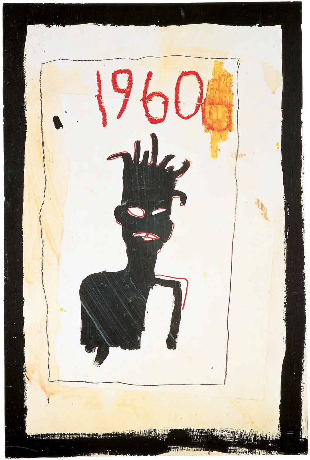self portrait: jean michel basquiat