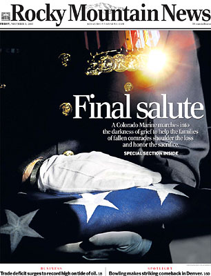 Final Salute © Rocky Mountain News