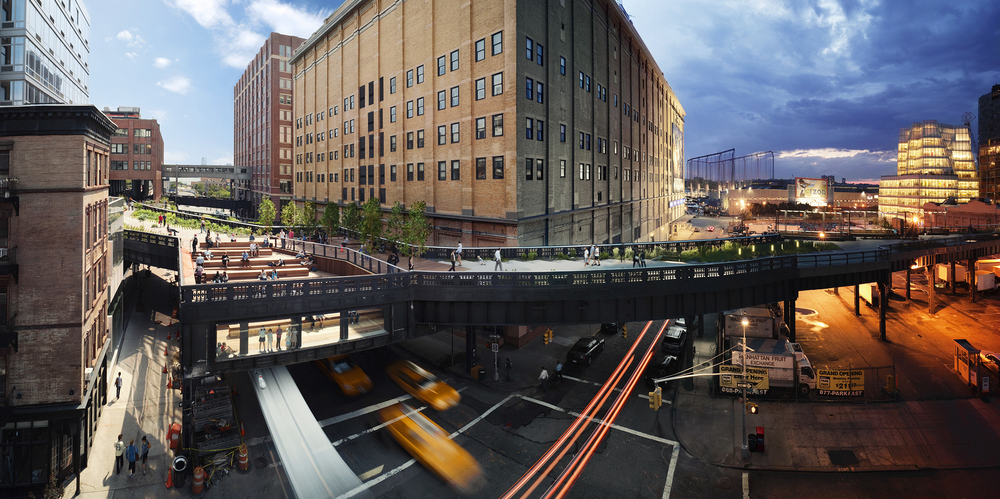 Day to Night: The Highline for New York magazine © Stephen Wilkes