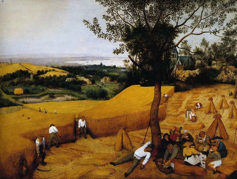 "Pieter Bruegel's ""The Harvester"""