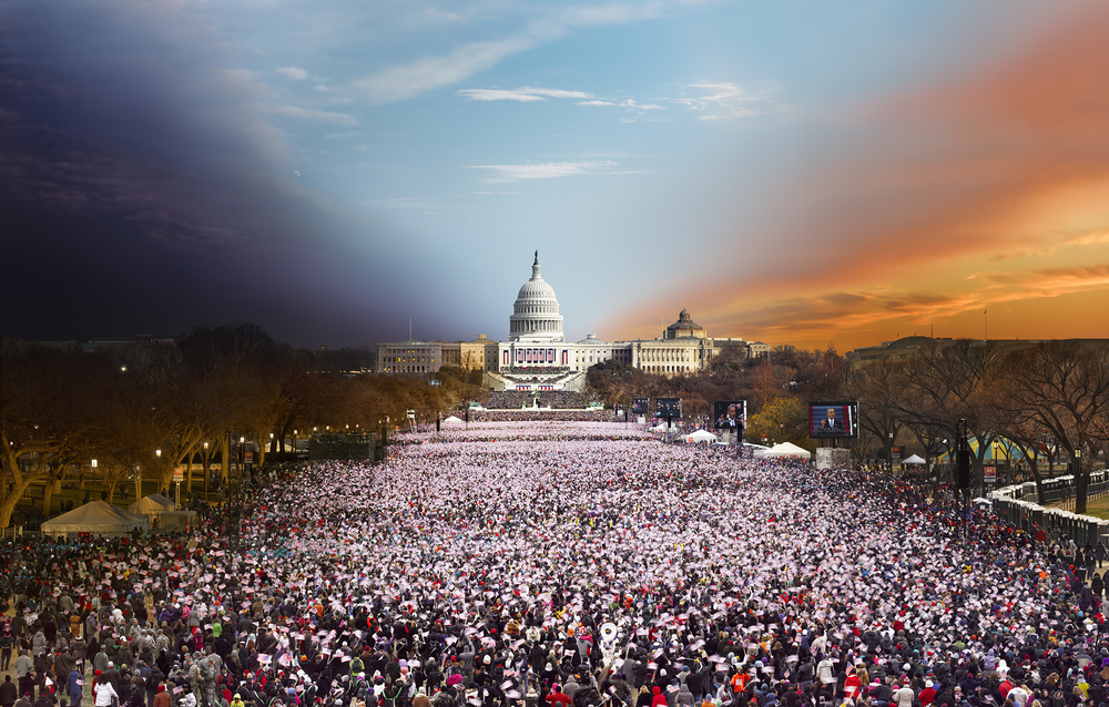 Day to Night: Presidential Inauguration, Washington DC © Stephen Wilkes